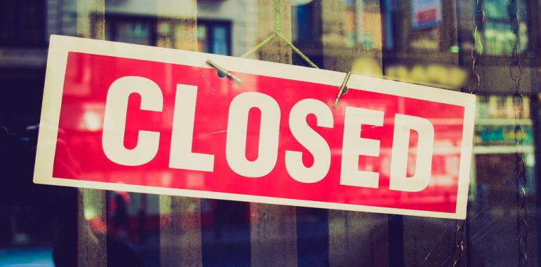 Store Closure – Evesham