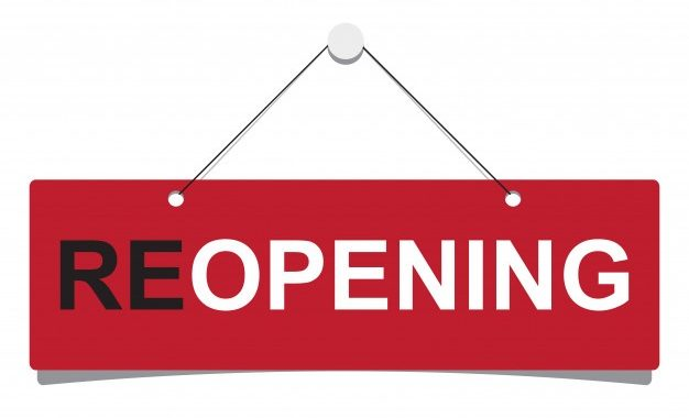 Store Re-opening!